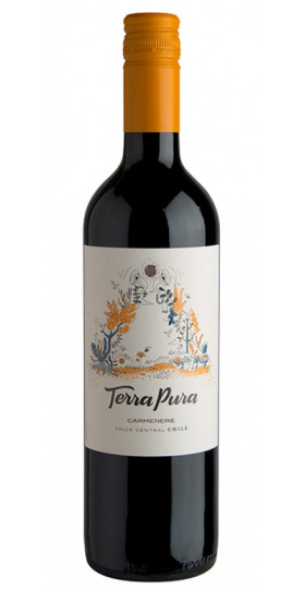 Вино Terra Pura Carmenere, 2018, 0.75 л