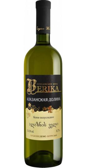 "Вино Marniskari, ""Berika"" Alazani Valley White, 0.75 л"