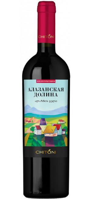 "Вино Chitoni, ""Alazani Valley"" Red, 0.75 л"