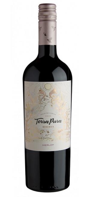 Вино Terra Pura Reserva Merlo, 2018, 0.75 л