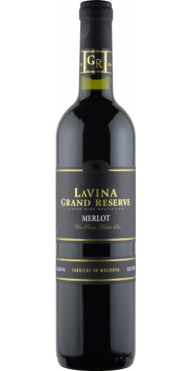 """Вино """"Lavina Grand Reserve"""" Merlot, 0.75 л"""