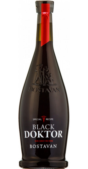 "Вино Bostavan, ""Black Doctor"" Semi-sweet, 0.75 л"