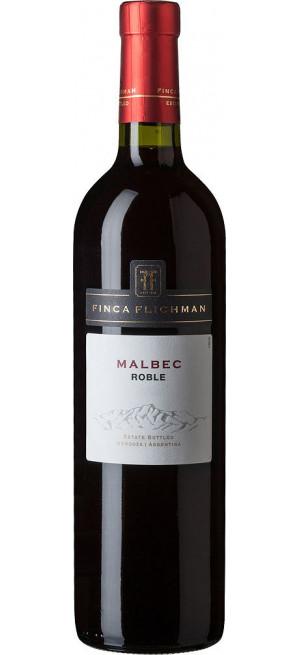 Вино Finca Flichman, Malbec Roble, Mendoza, 2017, 0.75 л