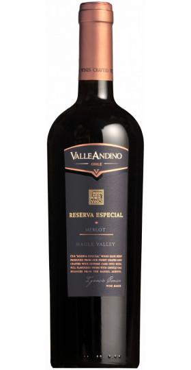 """Вино Valle Andino, Merlot """"Reserva Especial"""", 0.75 л"""