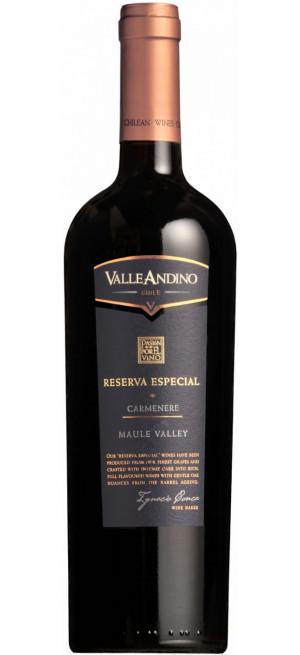 """Вино Valle Andino, Carmenere """"Reserva Especial"""", 2015, 0.75 л"""