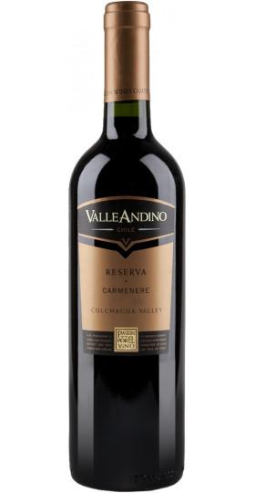 """Вино Valle Andino, Carmenere """"Reserva"""", 0.75 л"""
