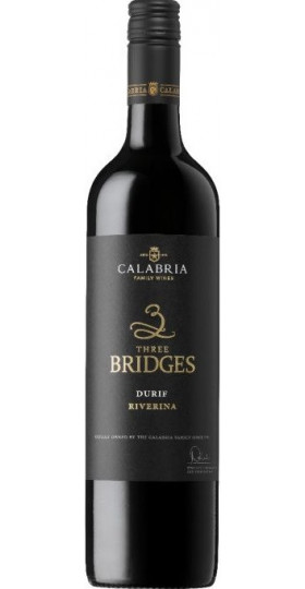 "Вино Calabria, ""Three Bridges"" Durif, 2016, 0.75 л"