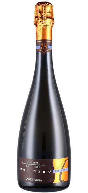 """Игристое вино Vite Colte, """"Molinera"""" Pinot Nero Extra Brut, Piemonte DOC, 0.75 л"""
