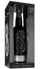"Виски Highland Park, ""Dark"" 17 Years Old, gift box, 0.7 л"