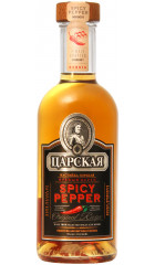 """Ликер """"Царская, Пряный Перец"""", 0.5 л"""