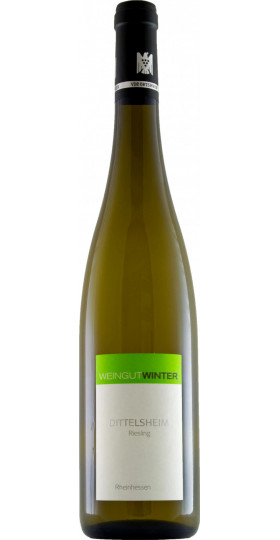 "Вино Weingut Winter, ""Dittelsheim"" Riesling, Rheinhessen, 2016, 0.75 л"