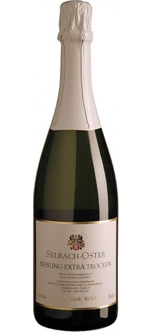Шампанское Selbach-Oster, Zeltinger Himmelreich Riesling Sekt Extra Trocken, 2014, 0.75 л