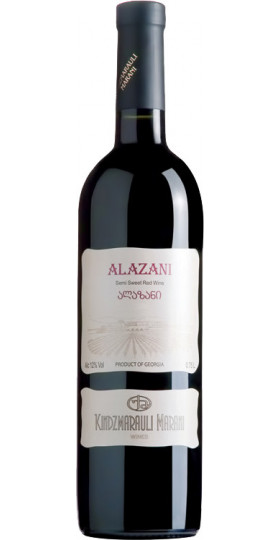 "Вино Kindzmarauli Marani, ""Alazani Valley"" red, 0.75 л"