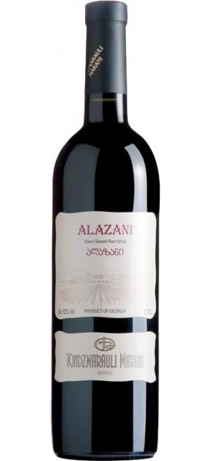 """Вино Kindzmarauli Marani, """"Alazani Valley"""" red, 0.75 л"""