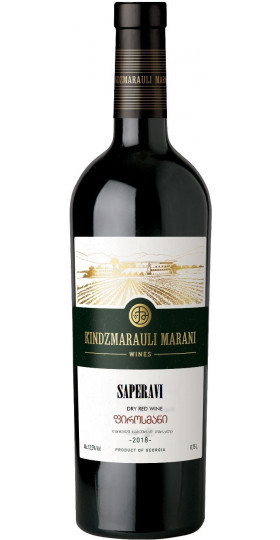 Вино Kindzmarauli Marani, Saperavi, 0.75 л