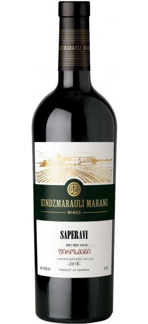 Вино Kindzmarauli Marani, Saperavi, 2019, 0.75 л