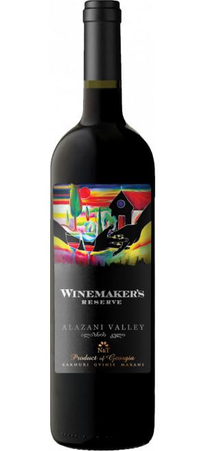 "Вино Kakhuri Gvinis Marani, ""Winemaker's Reserve"" Alazani Valley Red, 0.75 л"