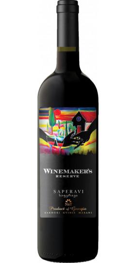 "Вино Kakhuri Gvinis Marani, ""Winemaker's Reserve"" Saperavi, 0.75 л"