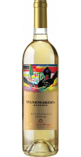 """Вино Kakhuri Gvinis Marani, """"Winemaker's Reserve"""" Tsinandali, 0.75 л"""