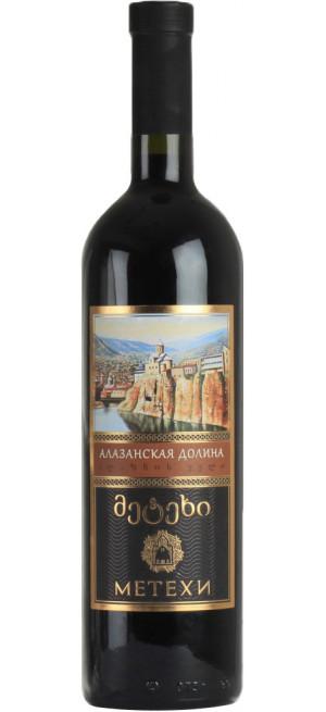 """Вино """"Метехи"""" Алазанская Долина красное, 0.75 л"""