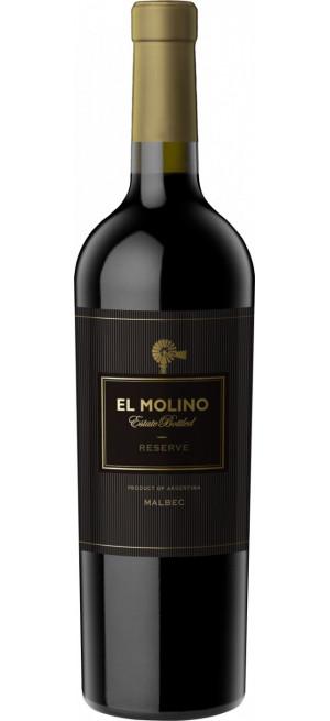 """Вино """"El Molino"""" Malbec Reserve, 0.75 л"""