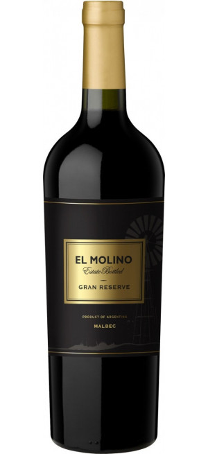 """Вино """"El Molino"""" Malbec Gran Reserve, 0.75 л"""