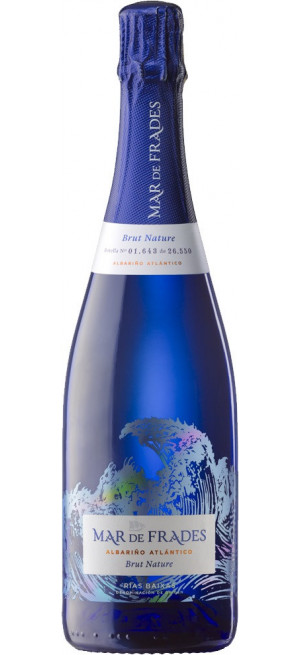 "Игристое вино ""Mar de Frades"" Albarino Atlantico Brut Nature, Rias Baixas DO, 0.75 л"
