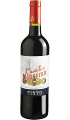 "Вино Bodegas San Valero, ""Castillo de Monseran"" Tinto, Carinena DO, 2018, 0.75 л"