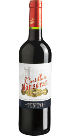 """Вино Bodegas San Valero, """"Castillo de Monseran"""" Tinto, Carinena DO, 2018, 0.75 л"""