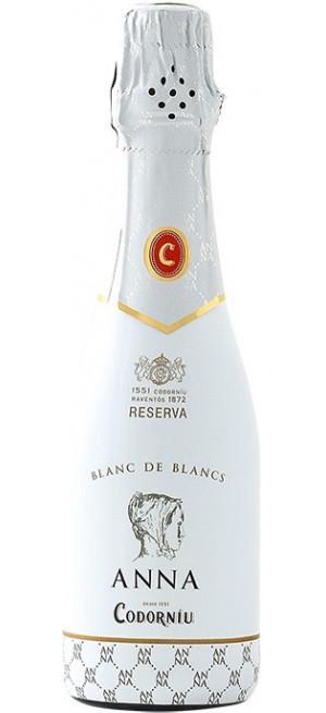 "Игристое вино ""Anna de Codorniu"" Blanc de Blancs Brut Reserva, 200 мл"
