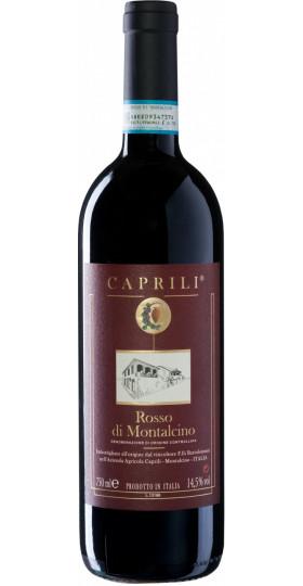 Вино Caprili, Rosso di Montalcino DOC, 2018, 0.75 л