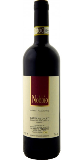 "Вино Roberto Ferraris, ""Nobbio"", Barbera d'Asti DOCG, 2018, 0.75 л"
