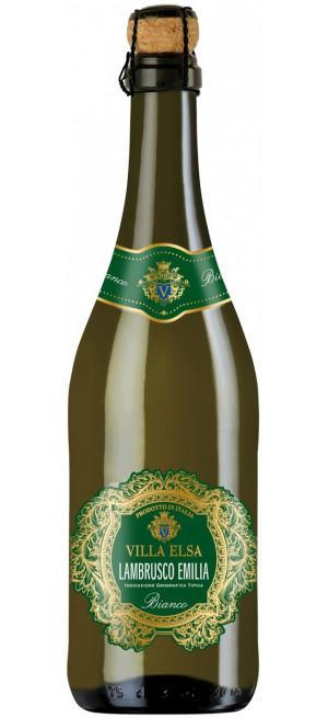 """Игристое вино """"Villa Elsa"""" Lambrusco Emilia IGT Bianco, 0.75 л"""