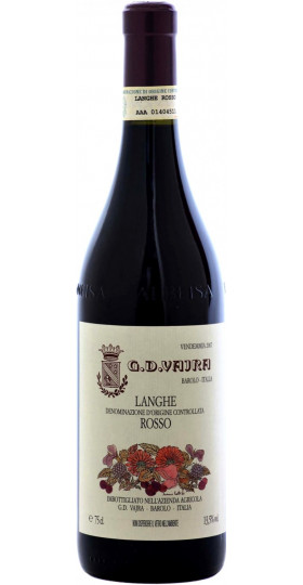 Вино G.D.Vajra, Langhe DOC Rosso, 2018, 0.75 л