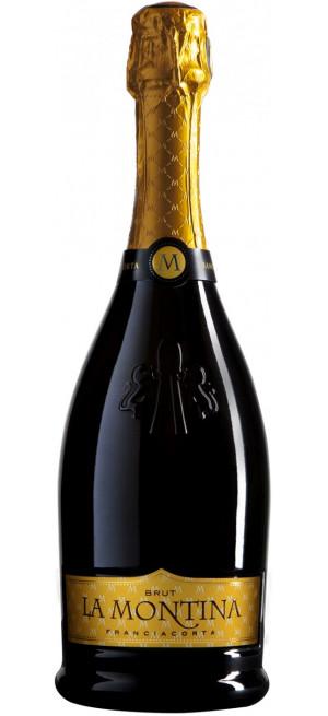 Игристое вино La Montina, Franciacorta DOCG Brut, 0.75 л