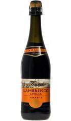 """Игристое вино """"Fontale"""" Lambrusco Emilia IGT Rosso Amabile, 0.75 л"""