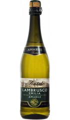 """Игристое вино """"Fontale"""" Lambrusco Emilia IGT Bianco Amabile, 0.75 л"""
