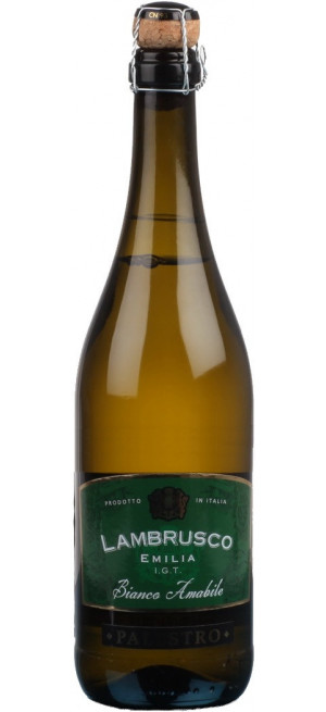 """Игристое вино """"Palestro"""" Lambrusco Emilia IGT Bianco Amabile, 0.75 л"""