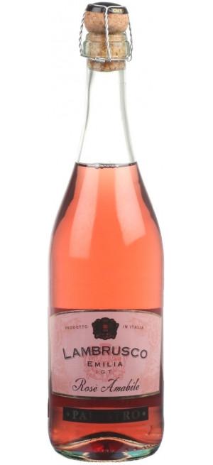 "Игристое вино ""Palestro"" Lambrusco Emilia IGT Rose Amabile, 0.75 л"