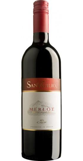 """Вино """"Sanvigilio"""" Merlot, delle Venezie IGT, 0.75 л"""
