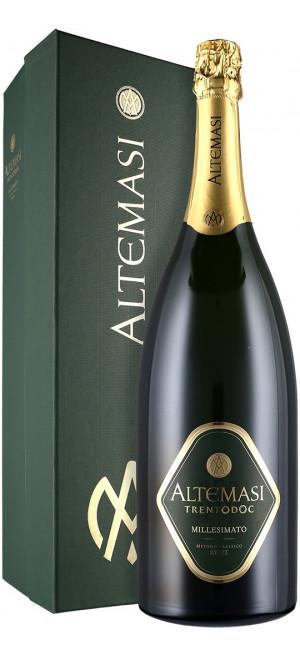 """Игристое вино """"Altemasi"""" Millesimato Brut, Trento DOC, gift box, 0.75 л"""