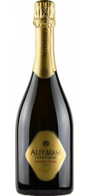 """Игристое вино """"Altemasi"""" Riserva Graal, Trento DOC, 2011, 0.75 л"""