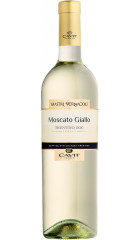 "Вино ""Mastri Vernacoli"" Moscato Giallo, Trentino DOC, 2018, 0.75 л"