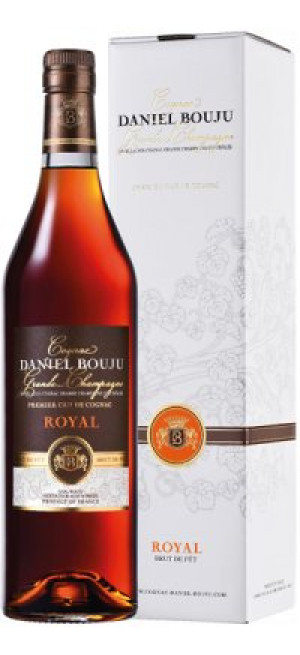 "Коньяк Daniel Bouju, ""Royal"", 15 Year Old, gift box, 0.7 л"