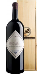 """Вино Tenuta Cantagallo, """"Barco Reale"""" di Carmignano DOC, 2018, wooden box, 3 л"""