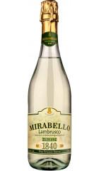 "Игристое вино Chiarli 1860, ""Mirabello"" Bianco, Lambrusco di Emilia-Romagna IGT, 0.75 л"