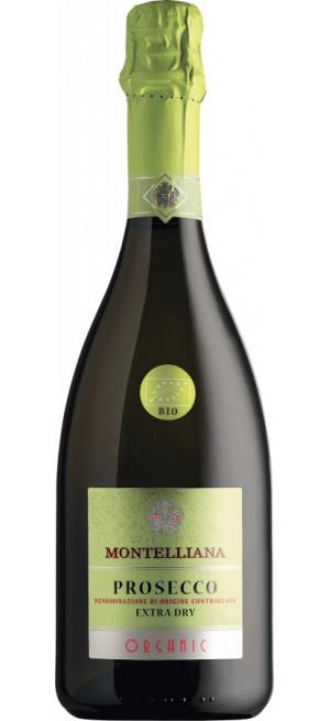 Игристое вино Montelliana Organic Prosecco, 0.75 л
