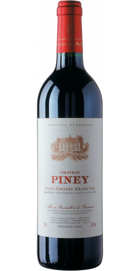 "Вино ""Chateau Piney"", Saint-Emilion Grand Cru AOC, 2015, 0.75 л"