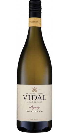 """Вино Vidal, """"Legacy"""" Chardonnay, 2018, 0.75 л"""