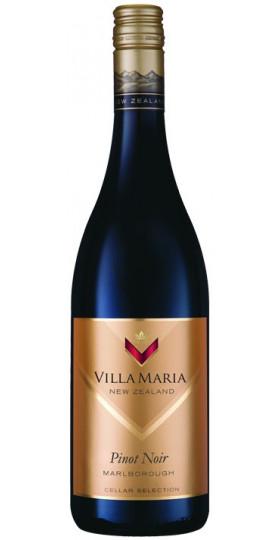"""Вино Villa Maria, """"Cellar Selection"""" Pinot Noir, 2017, 0.75 л"""
